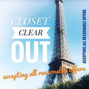 CLOSET CLEAR OUT! Make me an offer!